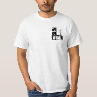 T-shirt Chemise d'USAGE du CLAQUEMENT UN