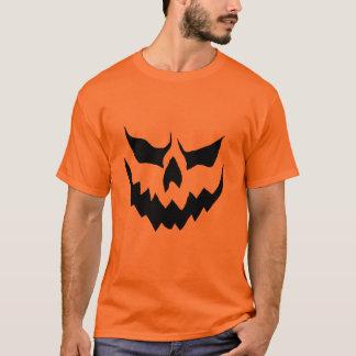 T-shirt Chemise effrayante de citrouille