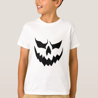 T-shirt Chemise effrayante de citrouille de Childs