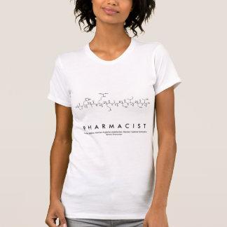 T-shirt Chemise F de nom de peptide de pharmacien