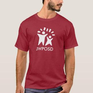 T-shirt Chemise foncée de JWPOSD - rouge