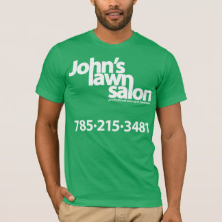 T-shirt Chemise fonctionnante de salon de la pelouse de