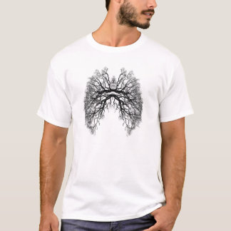 T-shirt Chemise fraîche de punk de poumon