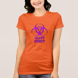 T-shirt Chemise géante d'insecte avec le symbole de