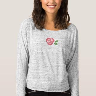 T-shirt Chemise grise de -épaule