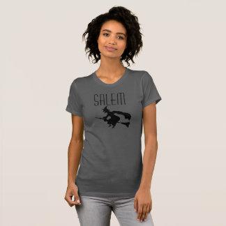 T-shirt Chemise grise de sorcière de Salem le