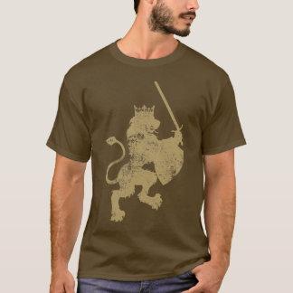 T-shirt Chemise grunge de Dark Long Sleeve de lion du Roi