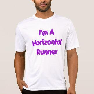 T-shirt Chemise horizontale de coureur