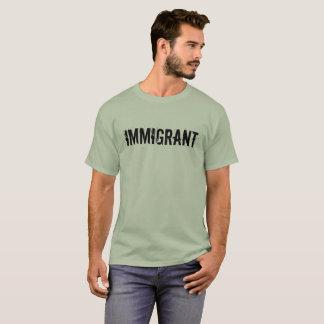 T-shirt Chemise immigrée de protestation d'Anti-Atout