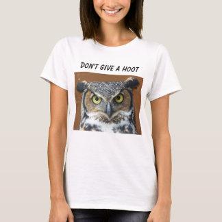 T-shirt Chemise impertinente de hibou