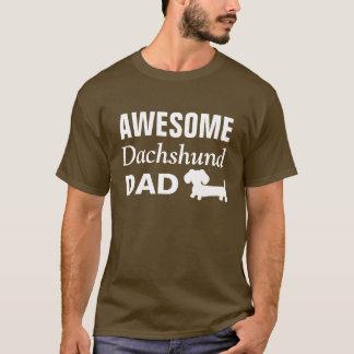 T-shirt Chemise impressionnante de papa de teckel