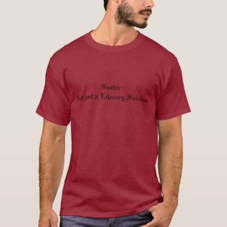 T-shirt Chemise intelligente de Goth