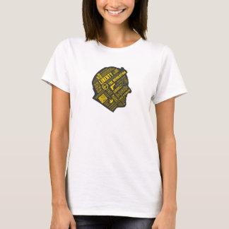 T-shirt Chemise libertaire de pensée abstraite de Ron Paul