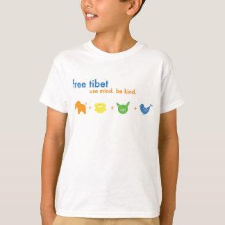 T-shirt Chemise libre de jaspe du Thibet