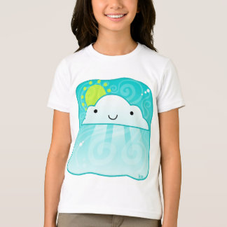 T-shirt Chemise lumineuse de nuage