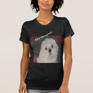 T-shirt Chemise maltaise de mode de WINGMAN pour des