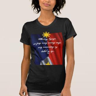 T-shirt chemise mamatay de sayo de dahil de NG d'ANG