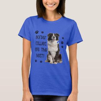 T-shirt Chemise mignonne de chien ! Les colleys de