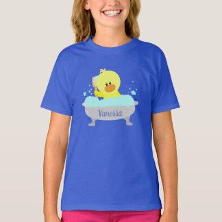 T-shirt Chemise mignonne en caoutchouc personnalisée