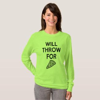 T-shirt Chemise mise par tir de lanceur de marteau de