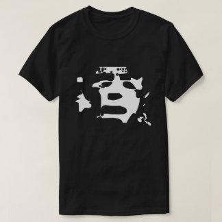 T-shirt Chemise noire des abstractions 1984 ambiants