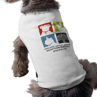 T-shirt Chemise OASALUM de chien de services animaux
