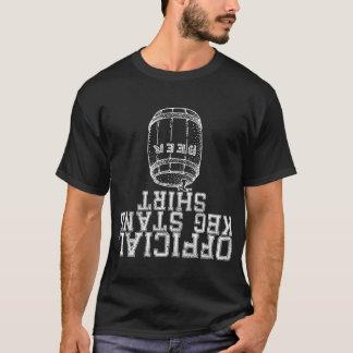 T-shirt Chemise officielle de support de barillet