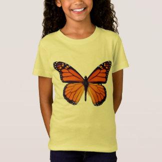 T-Shirt Chemise orange de papillon