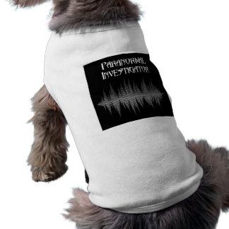 T-shirt Chemise paranormale de chien de Soundwave