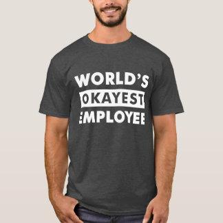 T-shirt Chemise personnalisée par employé d'Okayest du