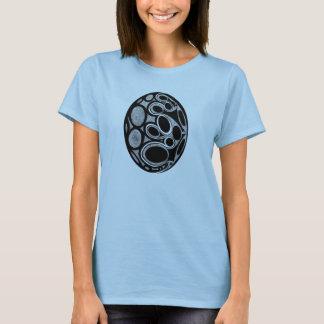 T-shirt Chemise pointillée unique d'oeufs