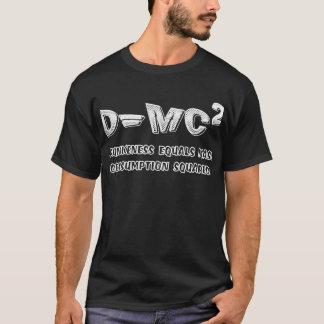 T-shirt Chemise potable de bière de consommation de masse
