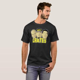 T-shirt Chemise poussiéreuse de visages de caisses