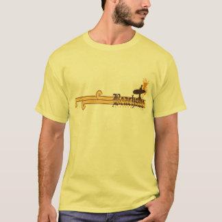 T-shirt Chemise presse de la plage d'amusement d'été