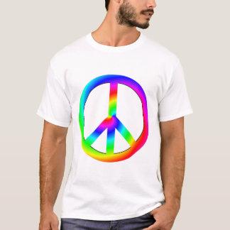 T-shirt Chemise psychédélique de paix