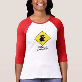T-shirt Chemise raglane totalement koalafied de dames