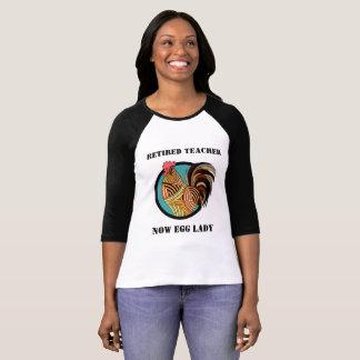 T-shirt Chemise retirée humoristique de professeur
