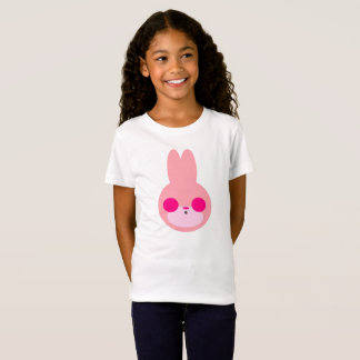 T-Shirt Chemise rose et blanche de lapin