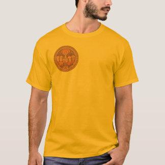 T-shirt Chemise : Roue hébreue israélienne de zodiaque