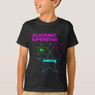 T-shirt Chemise scolaire de superstar