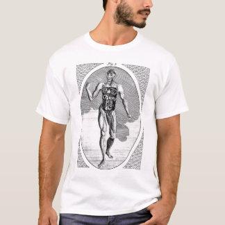 T-shirt Chemise souillée d'homme