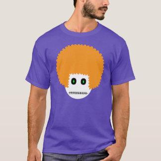 T-shirt chemise supérieure de carotte. gingembre