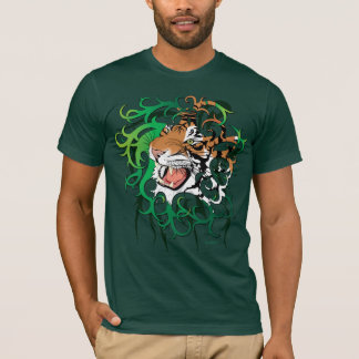 T-shirt Chemise tribale du tigre 2