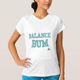 T-shirt Chemise turquoise sans valeur d'équilibre