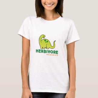 T-shirt Chemise végétarienne herbivore
