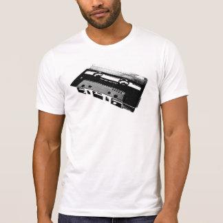 T-shirt Chemise vers l'arrière Ruban cassette