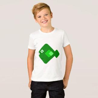 T-shirt Chemise verte de bande dessinée d'amusement