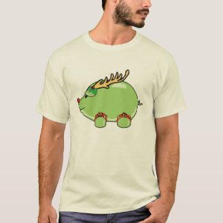 T-shirt Chemise verte de porc de VACANCES (hommes)