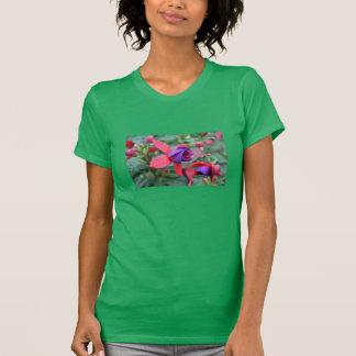 T-shirt Chemise vibrante de fleur