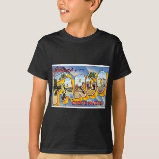 T-shirt Chemise vintage avec le graphique de Fargo